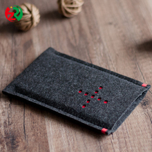 Wholesale cheap customized felt mobile phone cover from China supplier