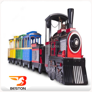 Popular shopping center rides used trackless train tourist train prices for sale