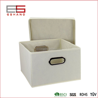 Wholesale foldable fabric suit clothes sundries storage box
