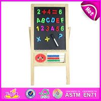 2015 kids painting cheap wooden easel,Drawing writing painting wooden easel toy for children,drawing board for baby W12B033