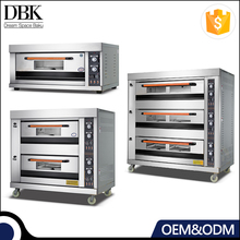 Digital Control 1 2 3 Layers pastry baking restaurant Commercial Gas deck oven with steam