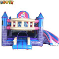 Princess Palace Combo Inflatable Bounce House, Princess Inflatable Castle For Kids