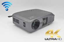 2016 Super Full 3D Glassess LED Theater DLP Home Projector