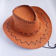 china supplier high quality flat brimmed cowboy hat