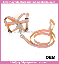Competitive Price Reliable Adjustable H Shape Nylon Soft Dog Harness