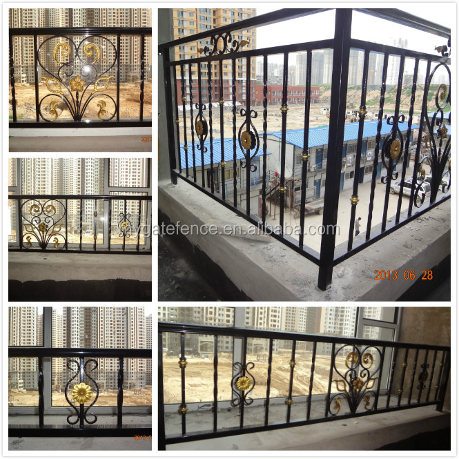 Balcony grill designs outdoor wrought iron railings iron for Terrace grills design