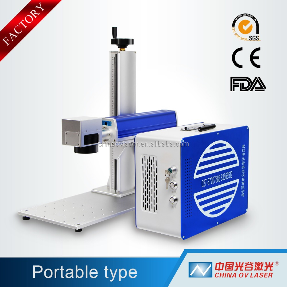 mini laser marking machine for plastic id card printing
