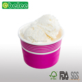 Ice cream container yogurt paper bowl