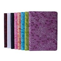 luxury 360 Degree Rotating Grape Grain Pattern PU Leather Case cover For Apple iPad Air 2 Smart Cover Stand Flip