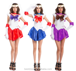 Sailor Moon Cosplay Uniform Fancy Dress Sailor moon Halloween Dress Costume