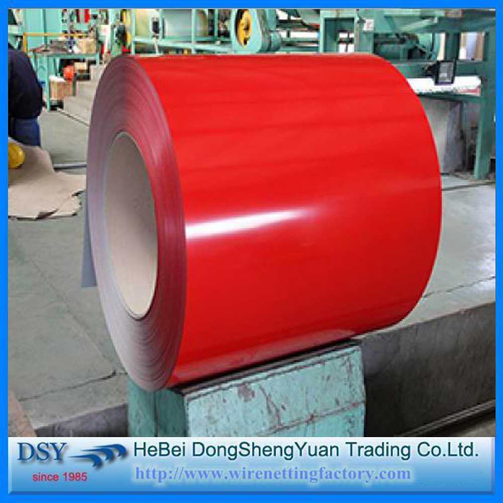 0.35mm Thickness Prepainted Galvanized /Color Coated Steel /PPGI Coil with Z30g for Metal Roof