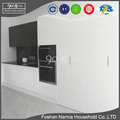 2017 hidden space saving simple design mdf kitchen cabinet