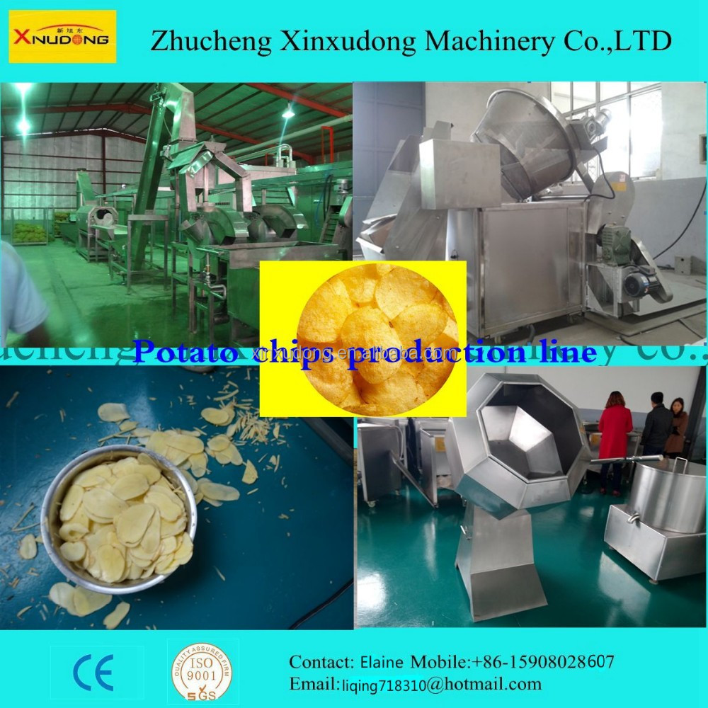 small scale fresh potato chips making machine/production line