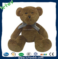 Custom make high quality various size chocolate giant teddy bear