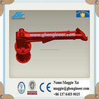 Telescopic Boom Marine Hydraulic Crane for freighter
