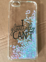 Custom Liquid Glitter Case for iPhone & Samsung Mobile Phone Cover