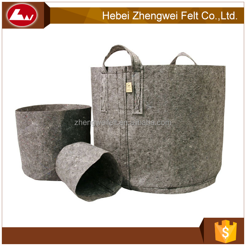 wholesale felt grow bags 5 10 20 50 100 200 gallon flower planting pots