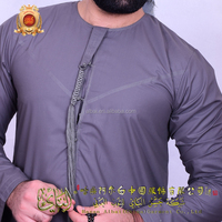 Oman style muslim thobe for men muslim men robes