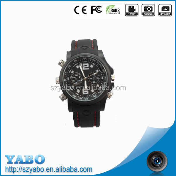 New 4GB/8GB Dvr Waterproof Watch 720*480p watch Camera Hidden Video Recorder motion detecting