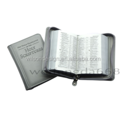 handmade embossed imitation leather bible book covers