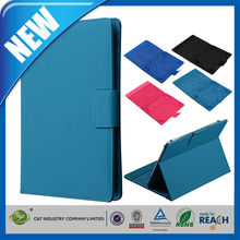 C&T fashionable design folio filp pu leather stand case for ipad air 2