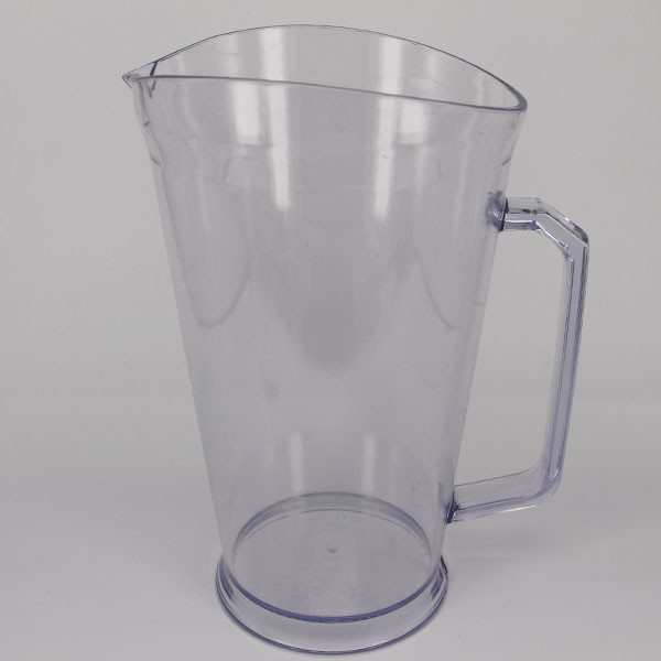 32oz Clear Plastic Fruit Infusion Pitcher, cold water cups