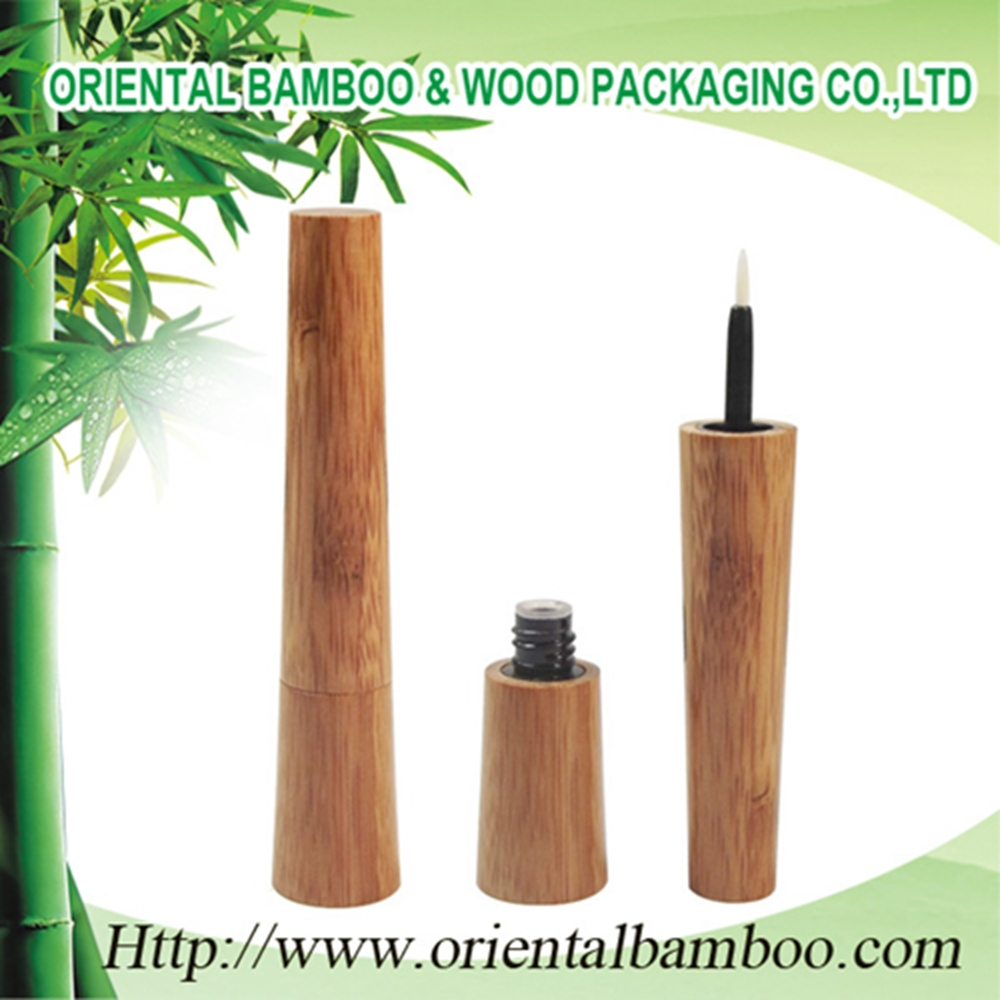 BLM-022A Popular bamboo eyeliner bottle for cosmetic packaging