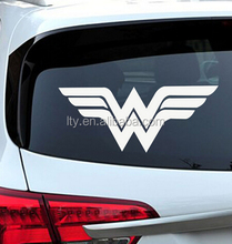 Recycle durable pvc cut lettering decal design for car