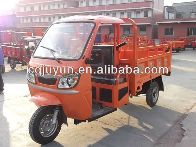semi-cabin tricycle for loading/250cc air-cooled cargo triciclo HL250ZH-C10