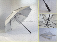 Customized Logo 130Cm Auto Open Double Layer Golf Umbrella
