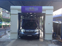 Fully automatic tunnel car wash machine, Car care equipment for carwash business