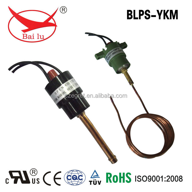 air condition manual reset pressure control switch
