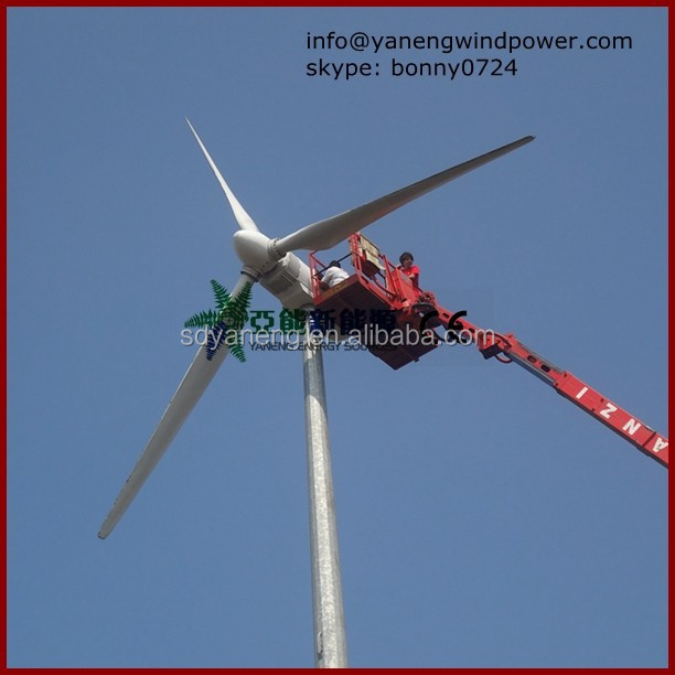 windmill 20kw , PLC controlled wind turbine , 20kw windg enerator for sale