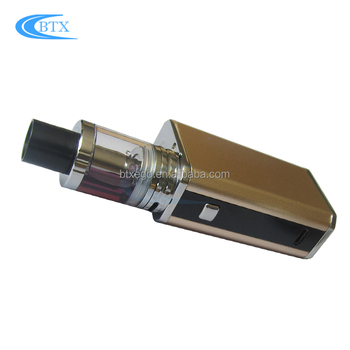 Mini 40W e cigarette box mod Vape Bands Tank 1500mah electronic cigarette