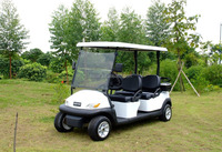 CE approved 48V electric 4 seater golf cart