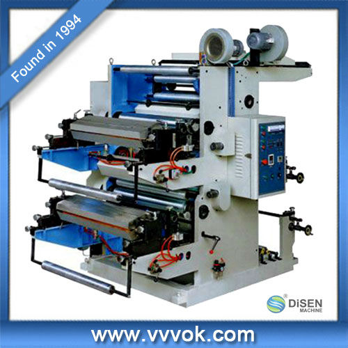 Small machine for flexo printing