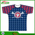 2015 New Arrival Custom Made Fully Dye Sublimation Lacrosse Shooter Shirt