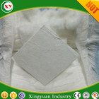Disposable baby adult diaper raw material of virgin untreated fluff pulp for absorbency core