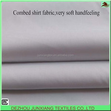 airjet loom, 65%polyester 35%cotton 133x78 combed, 120gsm poplin, very soft handfeel