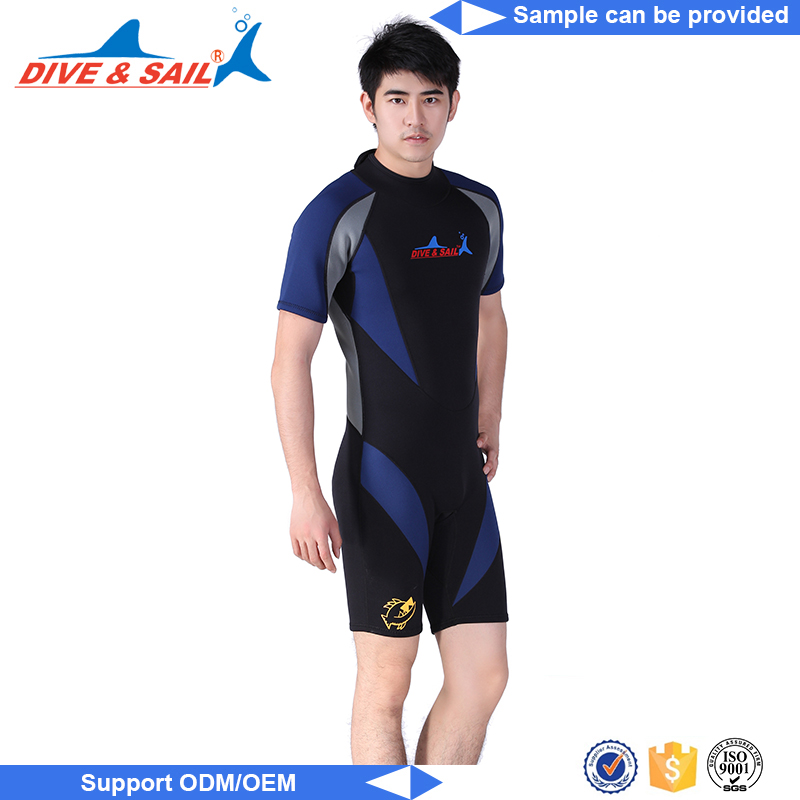wetsuit manufacture New Design neoprene diving/surfing 2mm wetsuit
