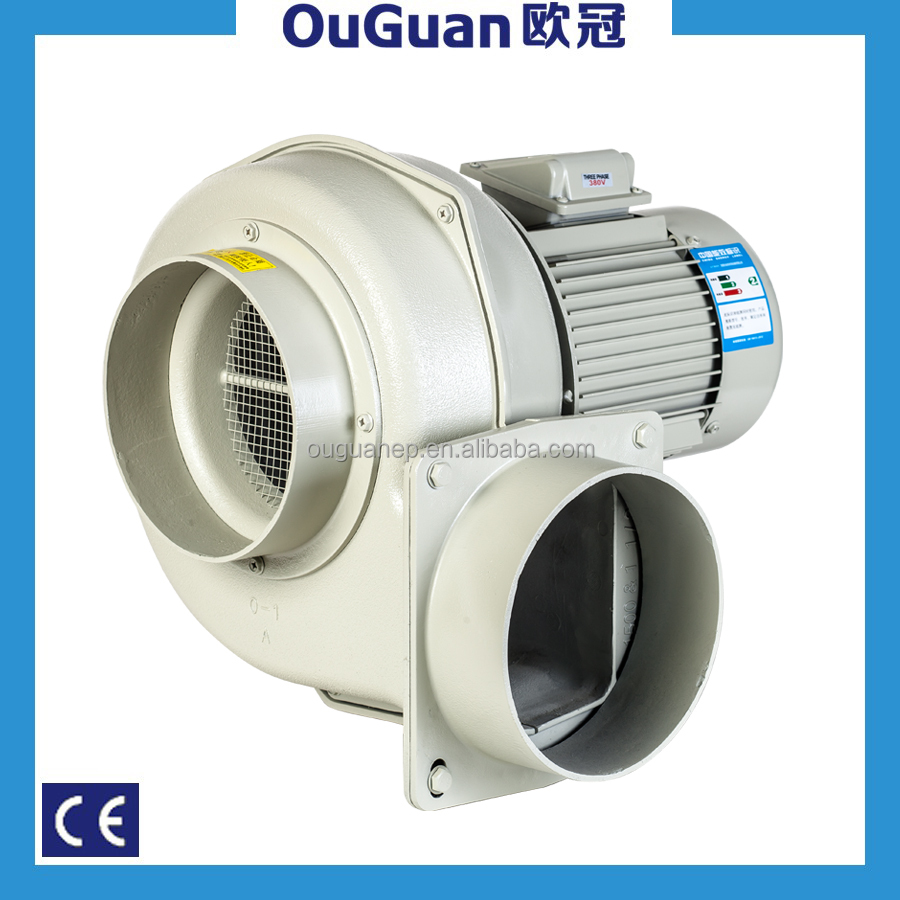 Shanghai blower factory Multi wing Energy conservation and power saving centrifugal fan