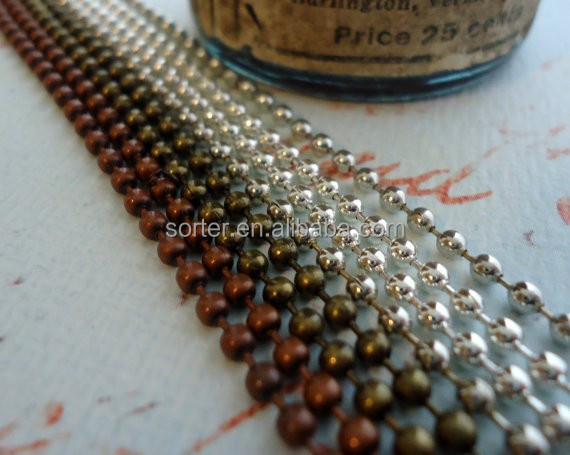 unique decorative metal ball strip chain curtain