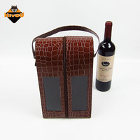 Manufacturer directly supply pure manual magnum wine box