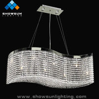 Clip on chandelier lamp shades SSXDE12-0074