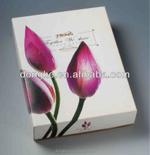 Guangdong Packaging Factory Custom Plastic flat pack gift box