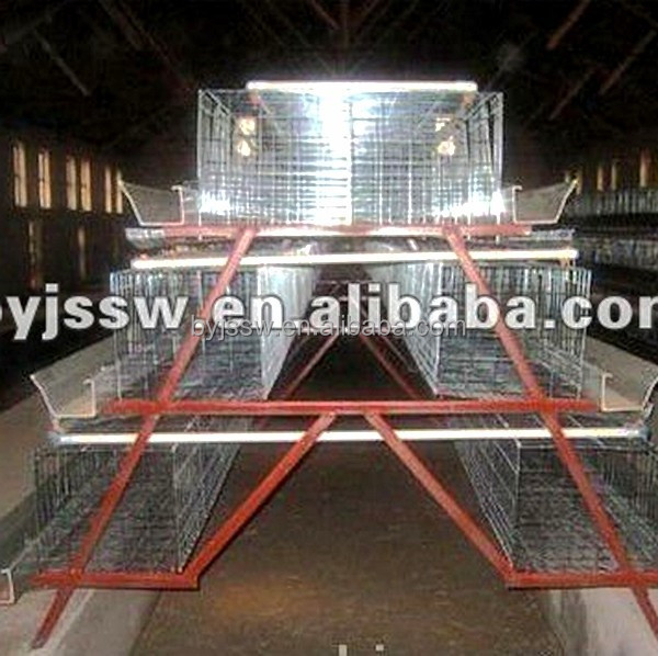 meat chicken farm best selling in nigeria/ broiler rearing cage/broiler chicken cage