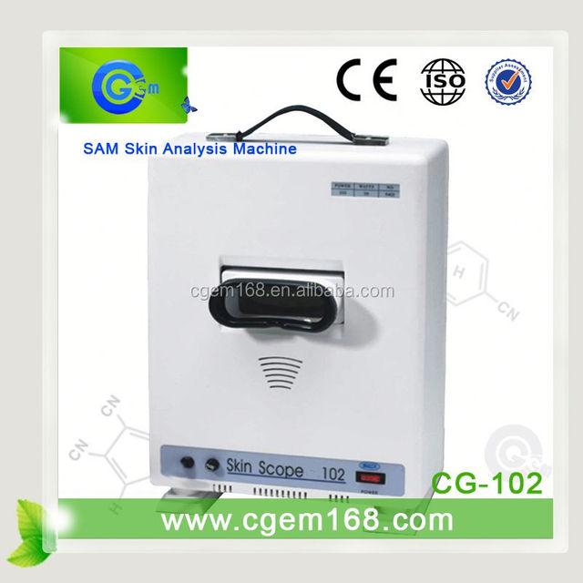 CG-102 skin analyzer software skin test 3d face scanner