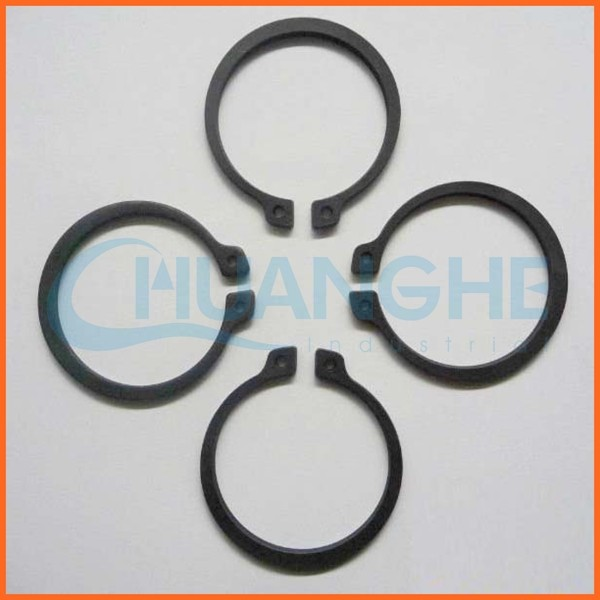China supplier custom stainless steel wire large diameter circlip ring