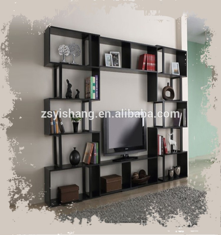 Wooden Black Drawing Room Furniture/Cabinets For Home