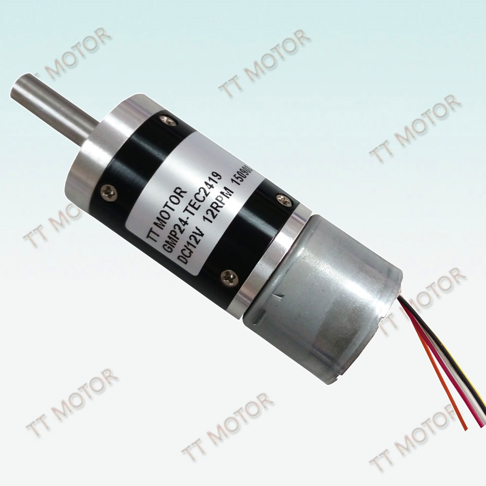 TT Motor of 24mm Brushless motor and electrical motor 24v high torque